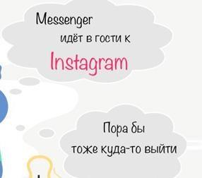 Продвижение диалога в Messenger через рекламу в Instagram