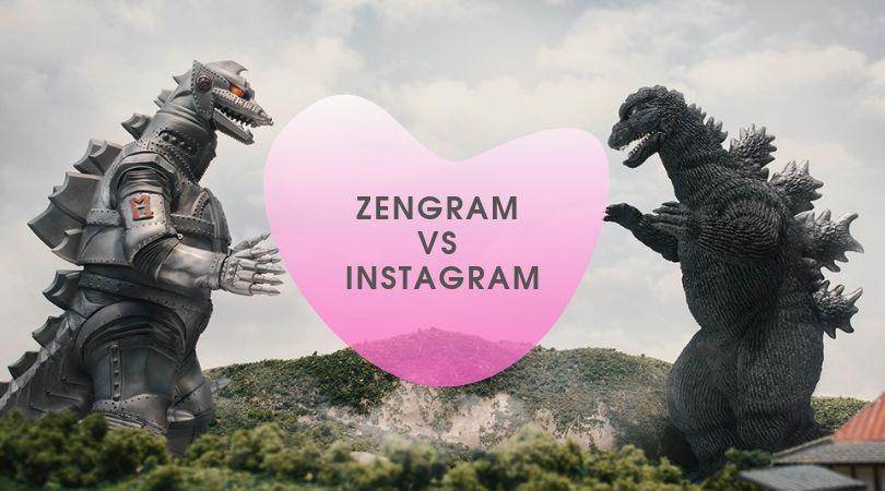 Zengram VS Instagram. Очередной раунд борьбы за успешное продвижение.